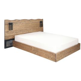 Wooden Bed - TH 4